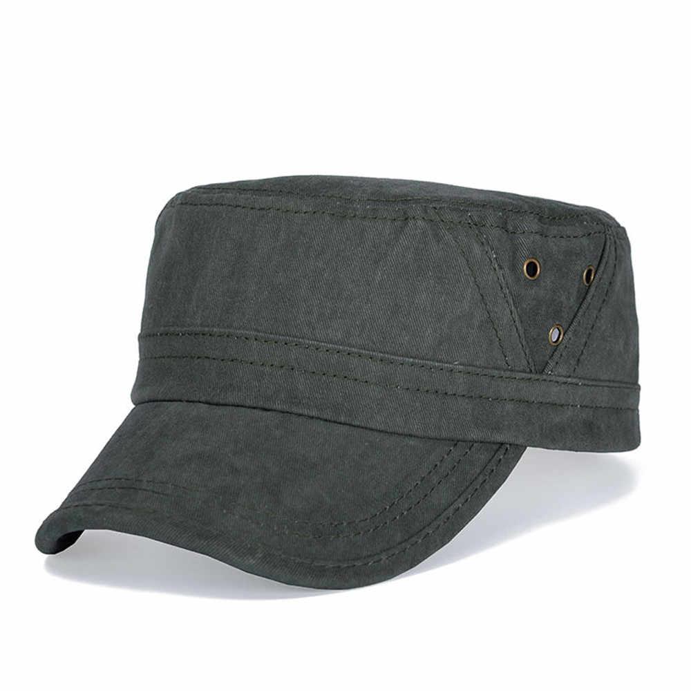 67cdccc9b fashion Casual winter unisex cap Military Hat Army Cadet Men Women Golf  Baseball Summer Sun Hat skullies travel