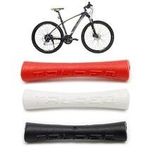 Тормозной механизм горного велосипеда провода защитная муфта резиновый протектор чехол велосипедный аксессуар