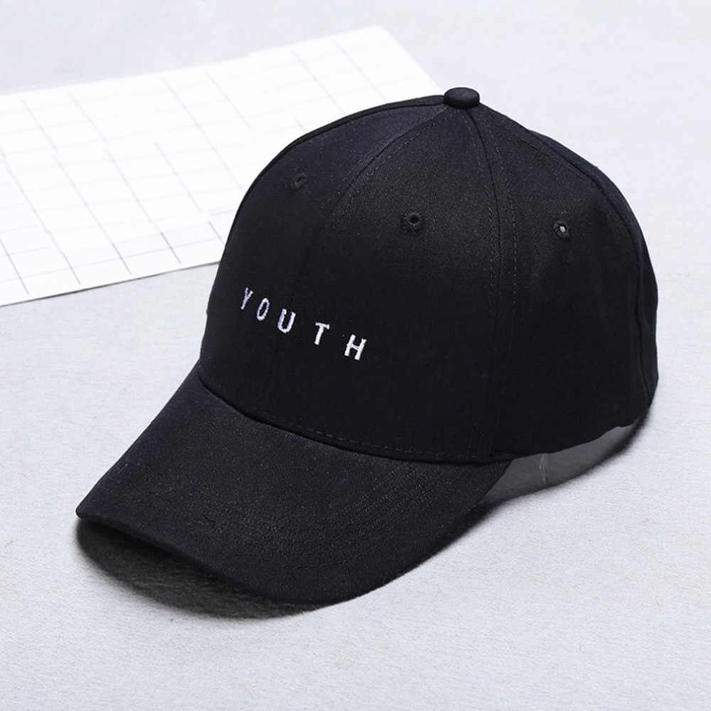 Men Women Summer Running Caps Baseball Cap Casual Letter Embroidery Solid Color Hip-hop Cap Hat Best Birthday Gift