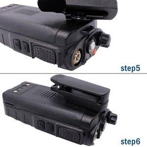 Image 5 - Original baofeng UV 9R clipe de cinto para baofeng walkie talkie à prova dwaterproof água UV XR A 58 UV 9R plus GT 3WP UV 5S série rádio em dois sentidos