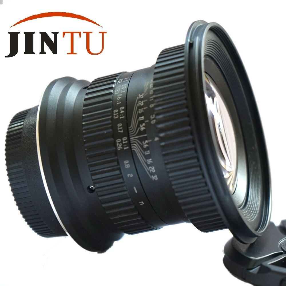 JINTU 15mm f/4,0 F4 Weitwinkel Makro Fisheye-objektiv Für Canon EF ...