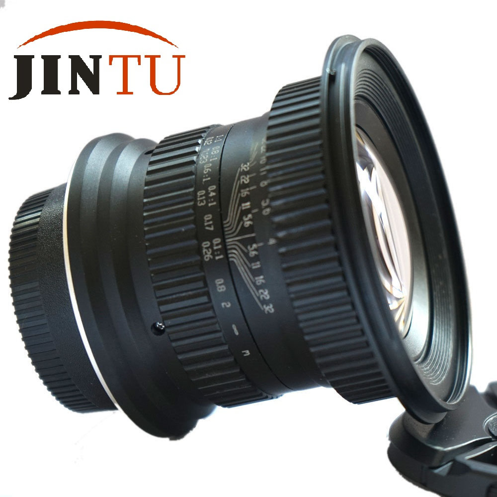 JINTU 15mm f/4.0 F4 Wide Angle Macro Fisheye Lens For Canon EF DSLR FULL Frame APS-C Camera canon eos 6d 20 2mp full frame dslr camera body ef 24 105mm f4 l is lens kit