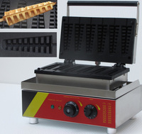 Electric lolly waffle machine with CE approval; lolly waffle stick maker
