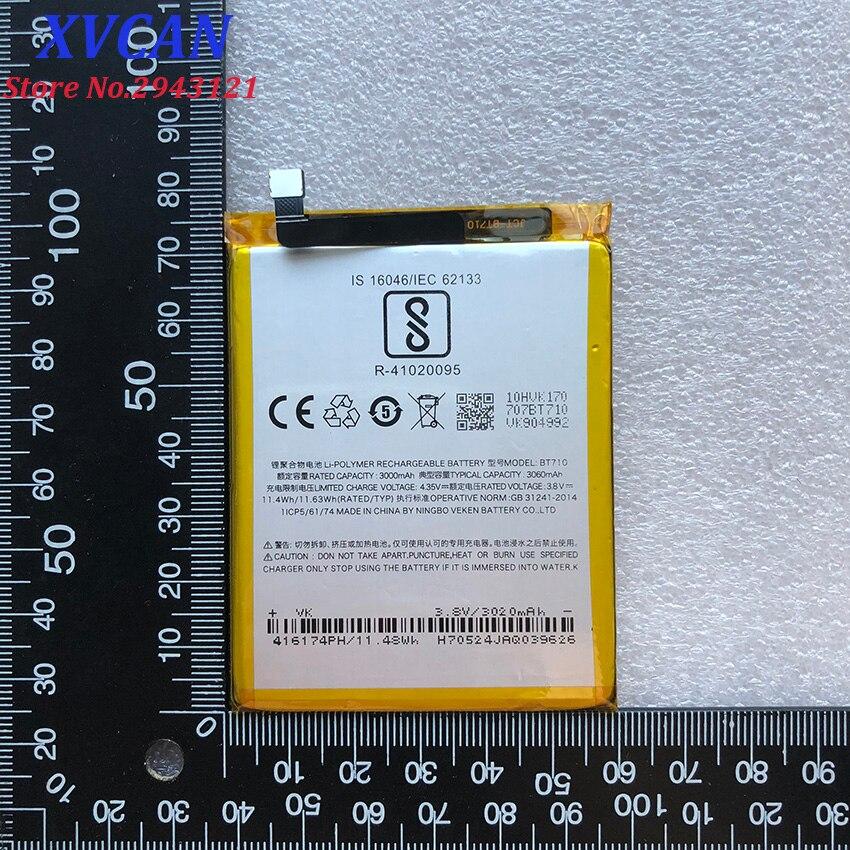 High Quality Original For Meizu Mei Zu Blue A5 BT710 Battery M5c M710M M793Q Batterie Bateria Batterij Accumulator 3060mAh