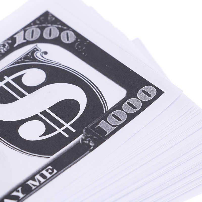 الخدع السحرية 100 قطعة دولار أمريكي ورقة أدوات للتسلية ألعاب مثيرة للاهتمام المال ديكور حفلات الزواج للأطفال هدية عيد ميلاد