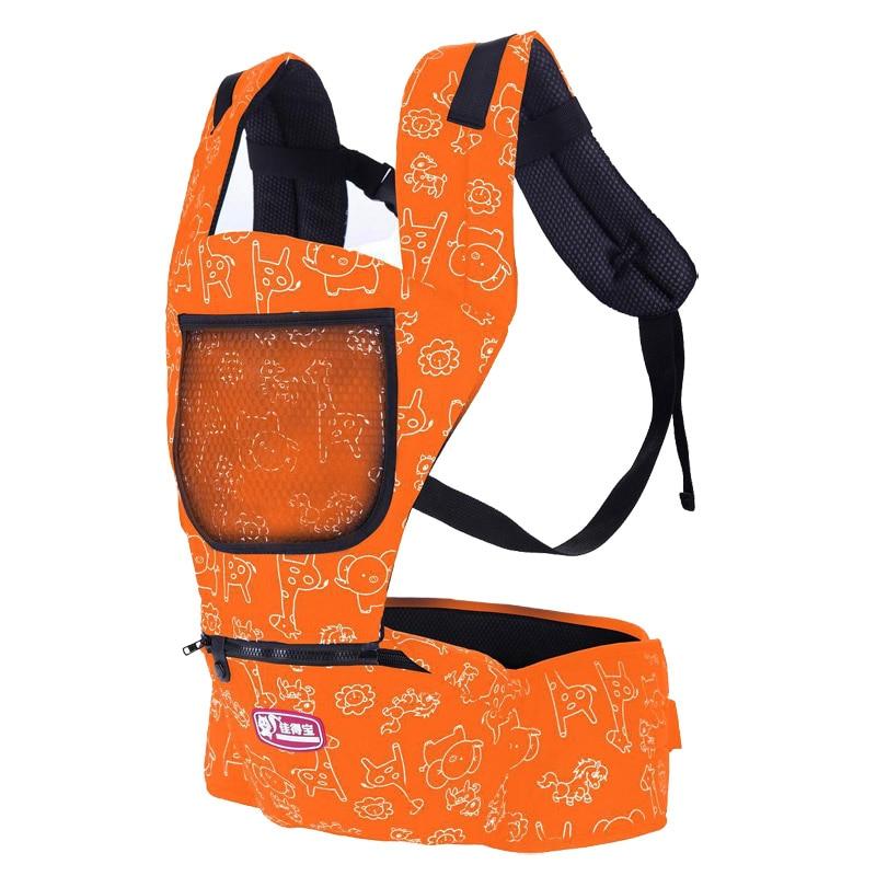 Cotton Baby Carrier Infant Sling suspenders Hold Waist Belt Backpack Hipseat Belt Baby holding Seat carrier Toddler Wrap Rider  недорого