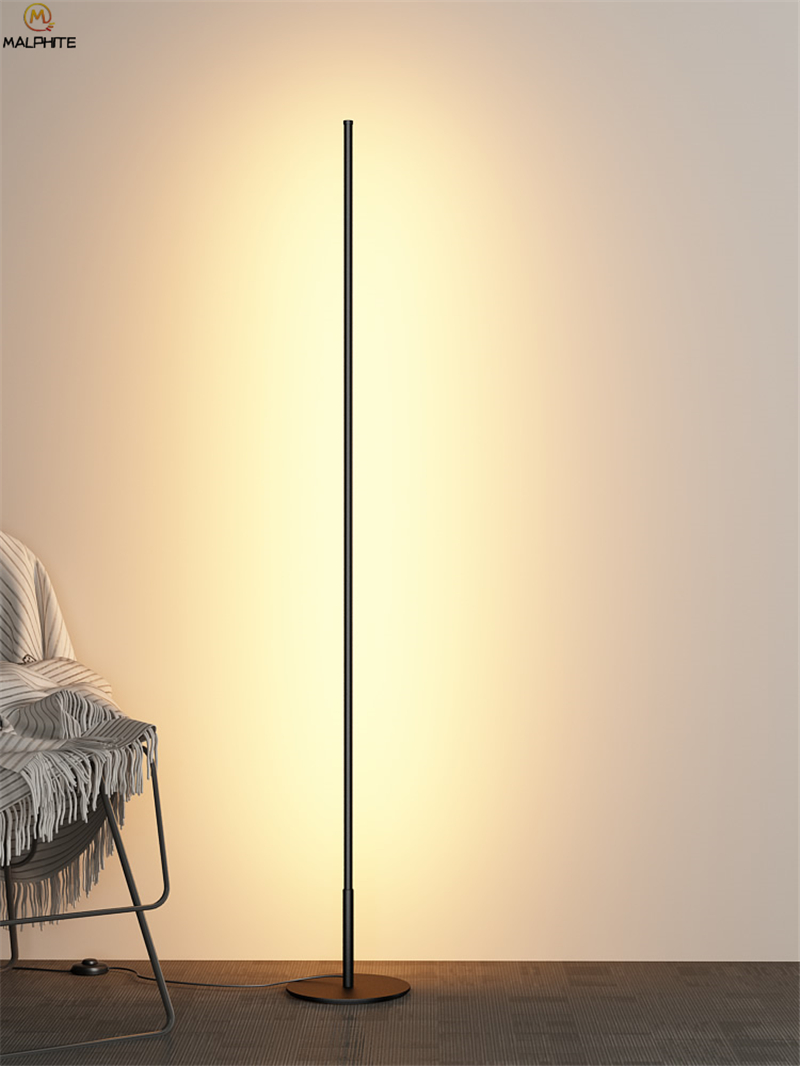 US $69.75 40% OFF Nordic Standing Lamps for Living Room Luminaria Floor  Lamps Dining Room Lamp Stand Modern Led Home Decor Standing Lamp  Lambader-in ...