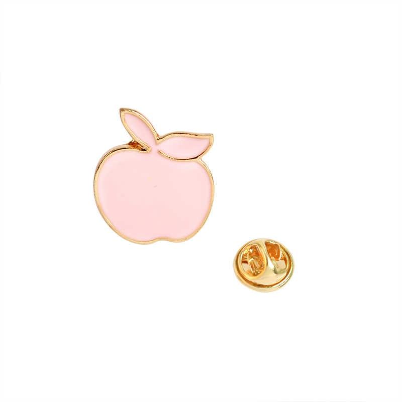 1 adet Koyun Tilki Ev Kabuk Çam apple Kar Dağ apple Broş Kadınlar için kız çocuk çantası Ceket Yaka Rozeti Pimleri moda takı