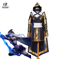 ROLECOS LOL Ashe Cosplay Costume Brand High Quality Costume Customization For LOL Cosplay Custom Made