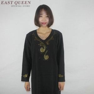 Image 2 - Muslim dress women clothing kaftan dubai abaya islamic clothing arabic dress abayas for women   AE001