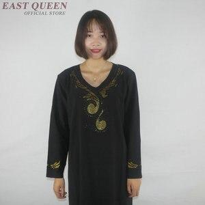 Image 2 - Muslimischen kleid frauen kleidung kaftan dubai abaya islamische kleidung arabische kleid abayas für frauen AE001