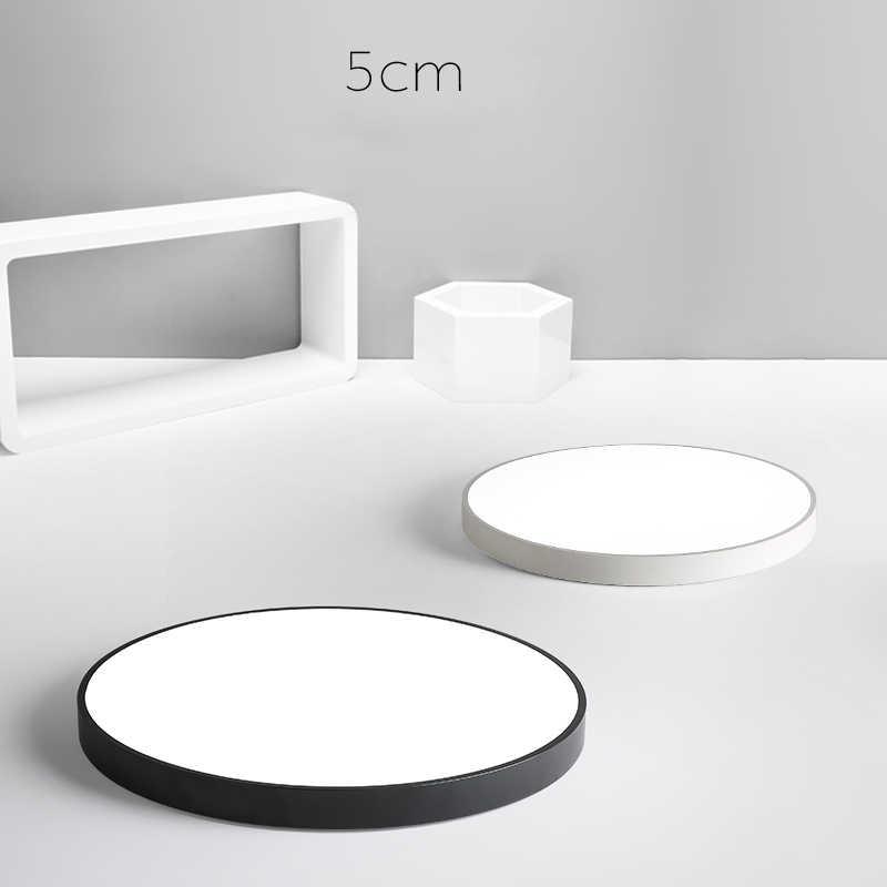 Ультра-тонкие потолочные светильники, светодиодный потолочный светильник, черная люстра, Потолочная кровать, светодиодный потолочный светильник с регулируемой яркостью, современные светодиодные плафоны