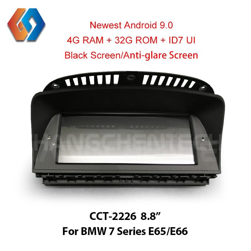 8.8 Android 9.0 Radio pour BMW série 7 E65 E66 (2006-2010) 1 Din voiture GPS Navigation multimédia lecteur stéréo de voiture WiFi BL DVR 26