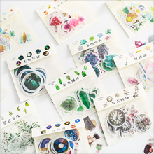 32 листа/Лот, много стилей, растения, животные, пищевая бумага, наклейка, посылка, сделай сам, дневник, украшение, наклейка, альбом, скрапбукинг