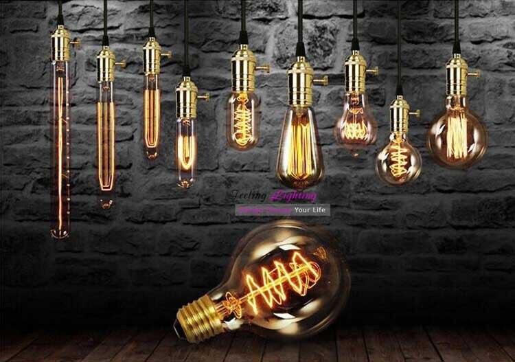 Retro Lampen Led : Retro led glühlampen vintage glühbirne st g diy handgemachten