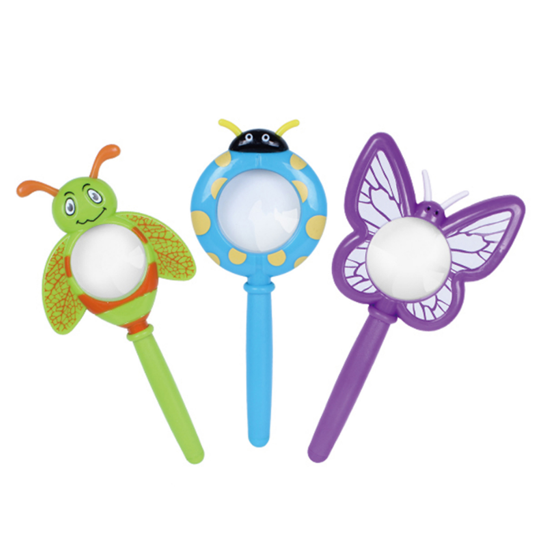 1pcs Children Butterfly and Insect Magnifying Glass with Bug Viewer Children Handheld Lens Toy Butterfly Shape - Color Random1pcs Children Butterfly and Insect Magnifying Glass with Bug Viewer Children Handheld Lens Toy Butterfly Shape - Color Random