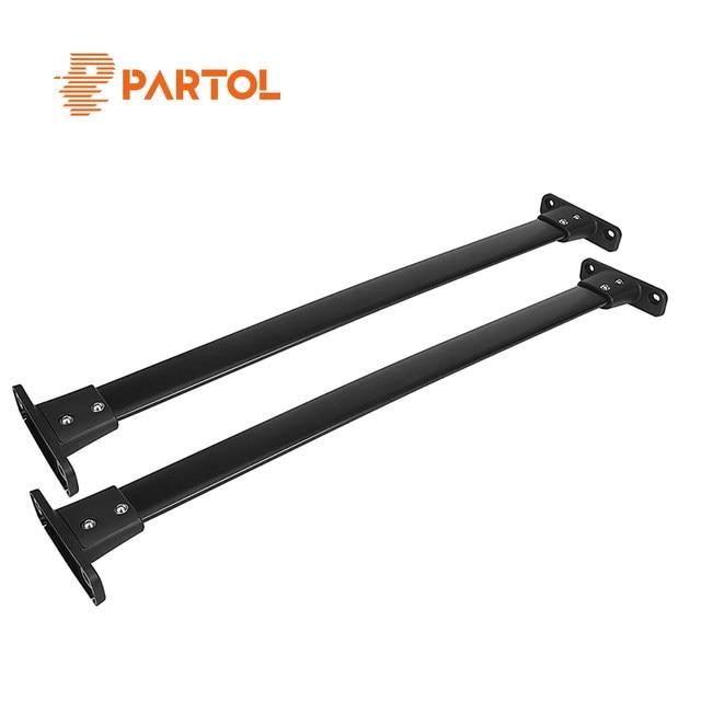 Tienda Online Patrol 2 unids/set aluminio bastidores de techo barras ...