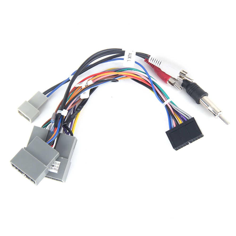 Dasaita DYX40 Car CD Audio Wiring Harness Adapter with Radio ...