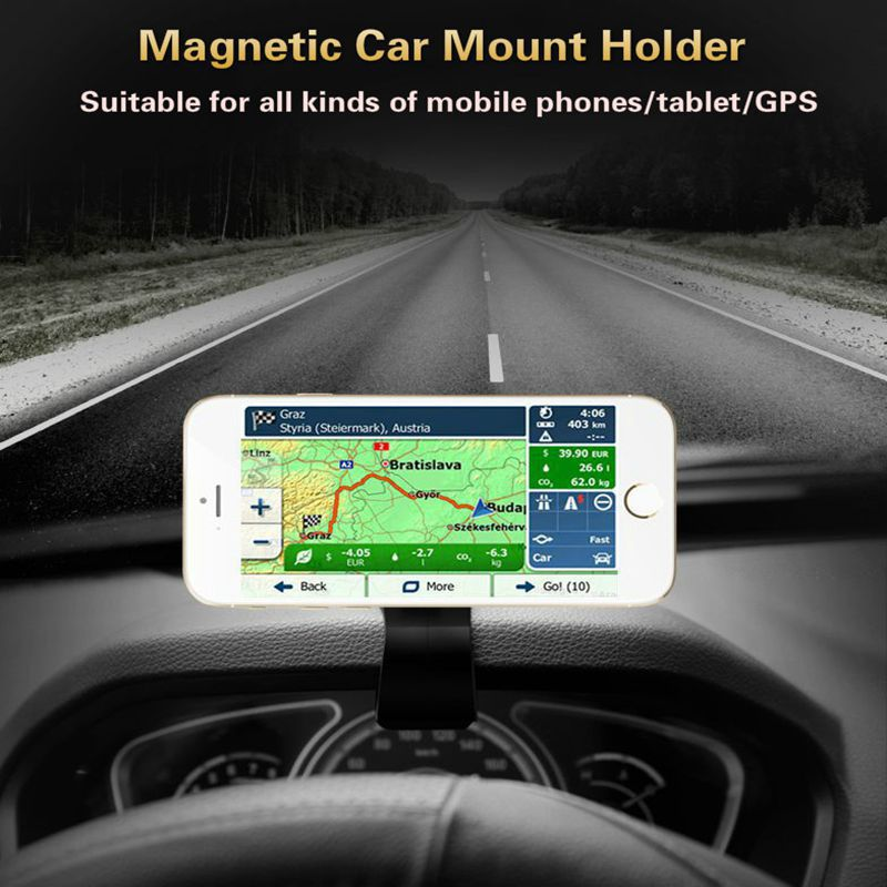 Image 5 - Phone Car Holder for iPhone Samsung Mobile Phone Universal Dashboard Mount Clip Air Outlet 360 Degree Rotating Car styling Stand-in Phone Holders & Stands from Cellphones & Telecommunications