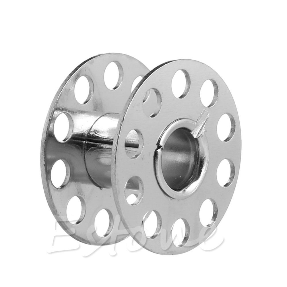 5 Bobbin 1 Bobbin Case Sewing Machine Parts Stainless Stell Metal Wire Spool
