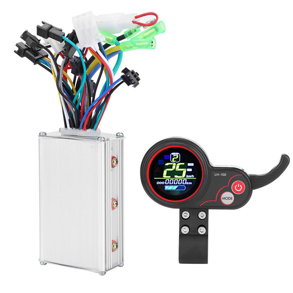 Multiple Setting 24V 36V 48V 60V Electric Bicycle Controller Stable Dual Mode Shift Switch LCD Display Universal Scooter Parts
