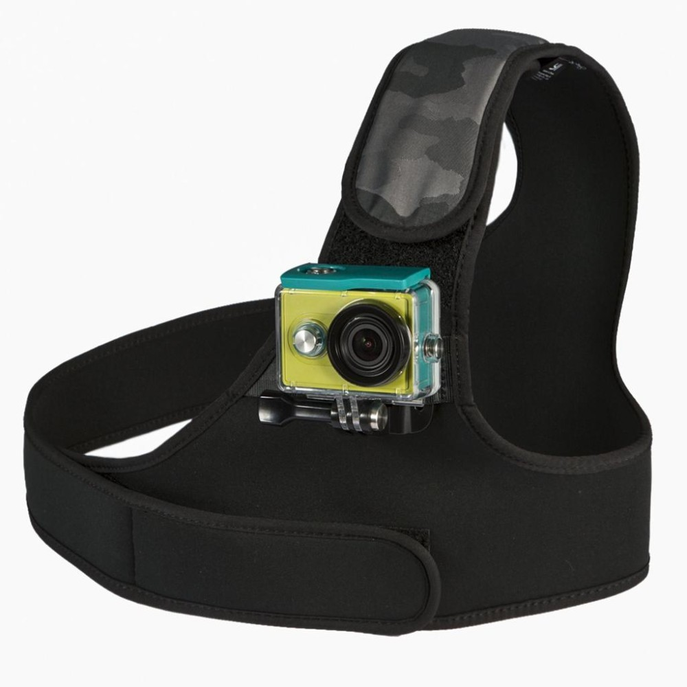 YI Chest Mount For YI Action Camera Black+camo For Sports Camera-7