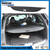 For Explorer 2016 2017 2018 Rear Cargo Cover privacy Trunk Screen Security Shield shade Auto Accessories