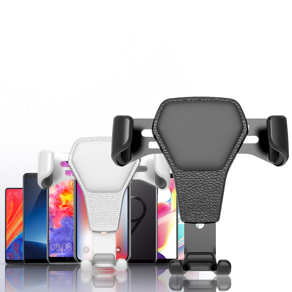 Car Phone Holder In Car Air Vent Mount Stand No Magnetic Mobile Gravity Smartphone For IPhone X XS 7 6 Redmi Note 7 Cell Support