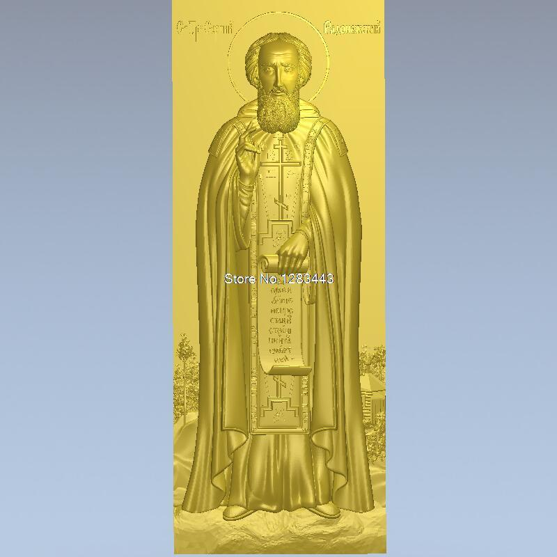 High quality 3d model relief  for cnc or 3D printers in STL file Sergius of Radonezh_3 martyrs faith hope and love and their mother sophia 3d model relief figure stl format religion for cnc in stl file format