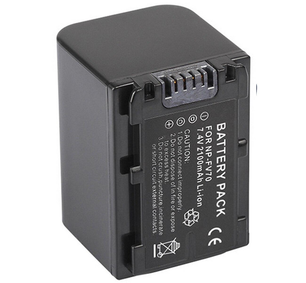 Battery Pack for Sony DCR-PJ5 DCR-PJ6 HDR-PJ10 Handycam Camcorder