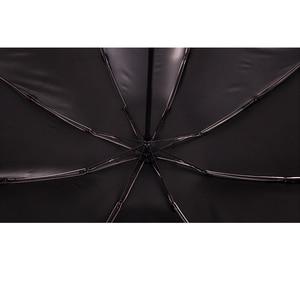 Image 3 - 8 צלעות באופן מלא אוטומטי מטרייה ונשים Windproof 3 מתקפל סאני וגשם רכב גברים של אנטי גשם הפוך הפוך מטריות