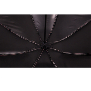 Image 3 - 8 costela totalmente automático guarda chuva masculino e feminino à prova de vento 3 dobrável ensolarado e chuva carro anti chuva reverso guarda chuvas