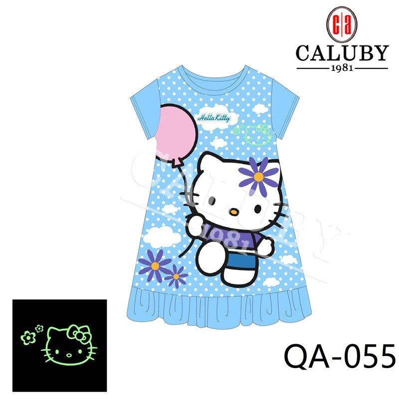 Großhandel Baby Mädchen Einhorn Nacht Licht 2019 Kinder Cartoon Schlaf Kleider Kinder Sommer Nachtwäsche Q055