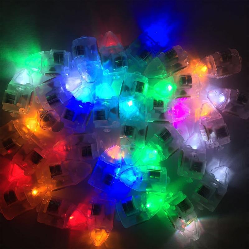 10 шт. маленький светодиодный мини-светильник, светящийся воздушный шар, без линий, светящийся фонарь для латексного бумажный шарик, фонарь s, для рождества, свадьбы, Bir - Испускаемый цвет: rgb