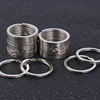20pcs Big Metal Keyring 2.0x30mm Double Key Chain Flat Ring Iron Wire Circle Key Holder Metal Findings Supplier DIY Accessories