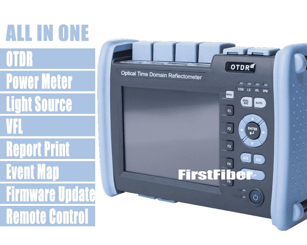 FF 990PRO Q1 волокно оптическое рефлектометр SM ММ 850/1300/1310/1550nm отражатель встроенный VFL OPM OLS сенсорный экран с SC ST FC LC разъем