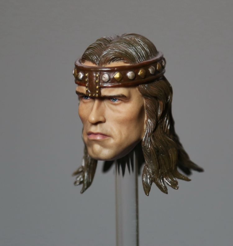 1/6th scale doll Accessory Conan the Barbar headsculpt Schwarzenegger head shape for 12 Action figure,Not included body,clothes 1 6th scale doll accessory conan the barbar headsculpt schwarzenegger head shape for 12 action figure not included body clothes