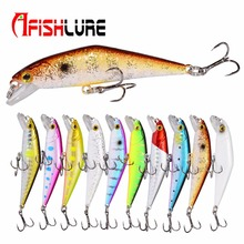 Bass Wobblers Trout Fishing Bait 66mm/8g Minnow Lures Hard Baits Iscas Artificial Pesca Leurre Lure Fishing D Contact Minnow 1pcs 5 5cm 9 6g artificial hard baits pesca minnow fishing lure wobblers tackle bass trout bait iscas artificiais 3d eyes