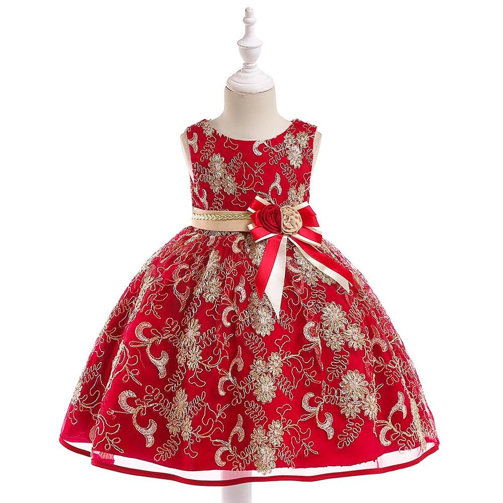 Lovely   Flower     Girl     Dresses   Tulle 2019 Appliqued Pageant   Dresses   For   Girls   First Communion   Dresses   Kids Prom   Dresses