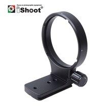 IShoot Lens Yakalı Ayak tripod bağlama aparatı Halka Standı Tabanı Nikon AF 80 400mm f/4.5 5.6D ED VR Değiştirin Tabanı Arca Uyumlu