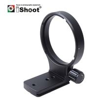 Ошейник для объектива iShoot, ножной штатив, кольцевая подставка, основание для Nikon AF 80 400 мм f/4,5 6D ED VR, Сменное основание, совместимое с Arca