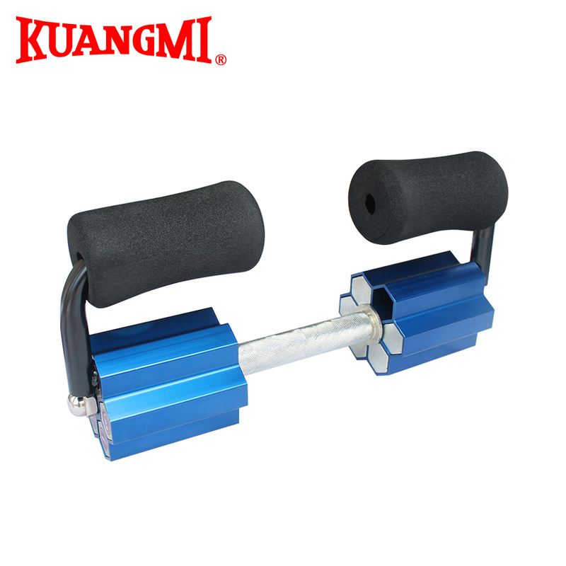 Kuangmi Dumbbell Sports Fitness Exercice 10KG Electroplated Dumbbell Weight-Adjustable  Weight Lifting Equipment 1PC