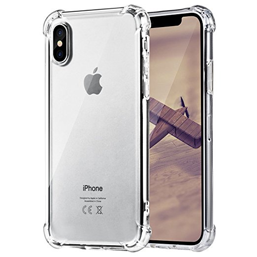 Latest Collection Of 2pcs For Iphone 7 8 Case Shockproof Strongly Prevent 7plus Phone Cases For Iphone X 6s 7 8 Plus Transparent Clear Soft Tpu Cover Clothes, Shoes & Accessories