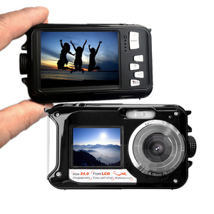 Image 4 - HD 1080P Waterproof Digital Camera Dual Screens (Back 2.7 inch + Front 1.8 inch) 16x Zoom Underwater Camcorder Cam (DC998)