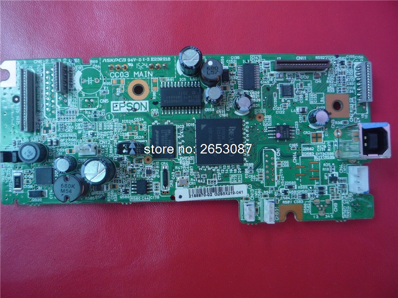 2158970 2155277 2145827 100% new original Main Board MainBoard mother board for Epson L355 L358 355 358 FORMATTER PCA ASSY 2158970 new and original mother board for epson l380 l383 l385 l386 l355 printer main board pcb assy