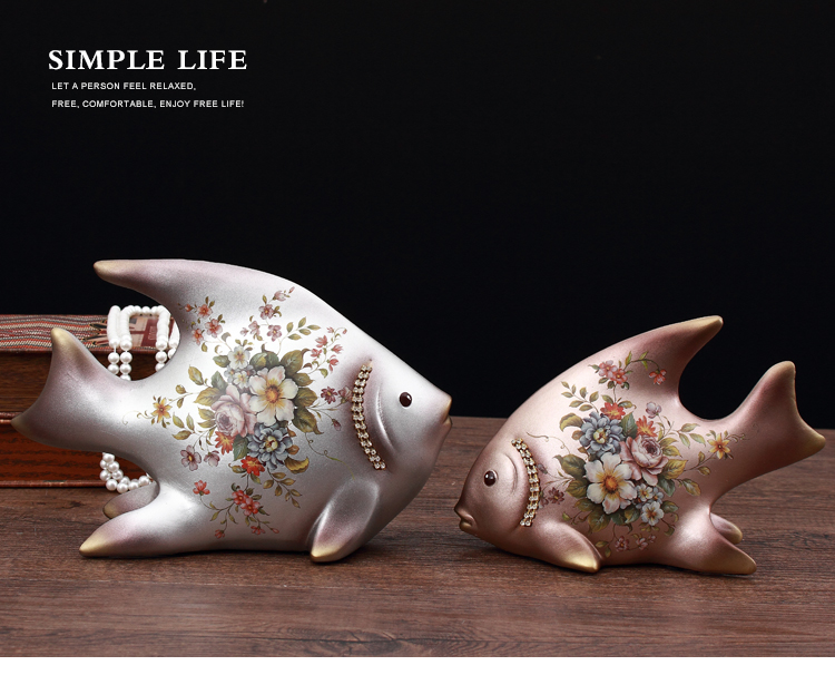 Novel Porcelain Couple Fish Miniature Soap Dish Decorative Washroom Ceramic Organizer Ornament Art And Craft Utensil Accessories Complete In Specifications Home Office Storage Home Storage & Organization