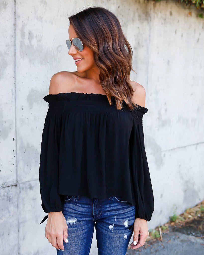 Fashion Women Summer Loose Casual Off Shoulder Slash Neck Solid Shirt Tops Blouse Ladies Top