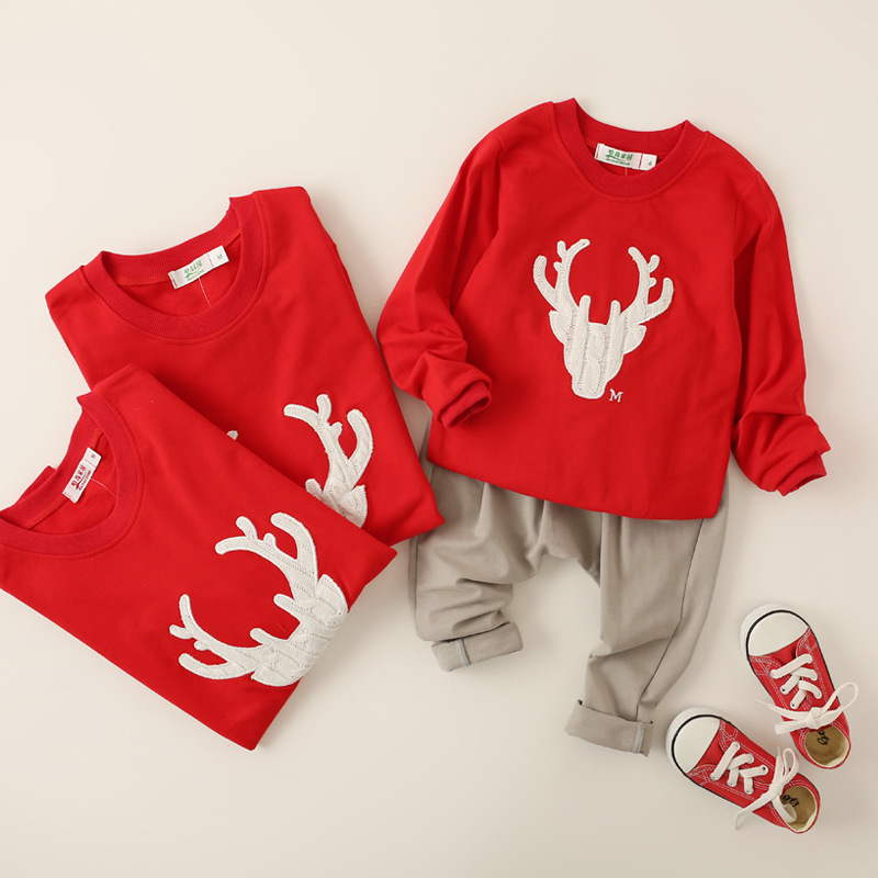Mother And Daughter Matching Red Green 3 4 Sleeve Raglan Tee Shirt Christmas Icing