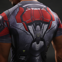 Falcon T Shirt Captain America Civil War Tee 3D Printed T-shirts Men Marvel Avengers 3 Compression Bodybuilding Crossfit tshirt