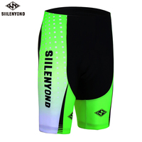 SIILENYOND 2018 Summer Men S Cycling Shorts Bicycle 5D Padded Gel Breathable Underpant Bike Underwear Quick